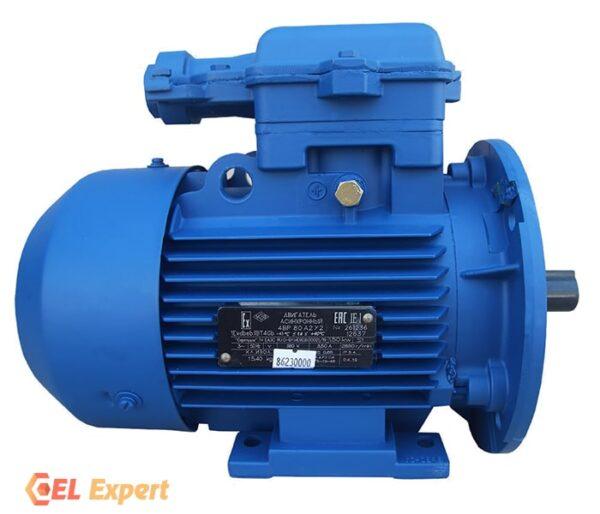 Взрывозащищенный электродвигатель 4ВР 90L6 - 1,5/1000 | Электродвигатель 4вр шильдик