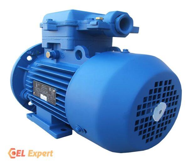 Взрывозащищенный электродвигатель 4ВР 90L6 - 1,5/1000 |