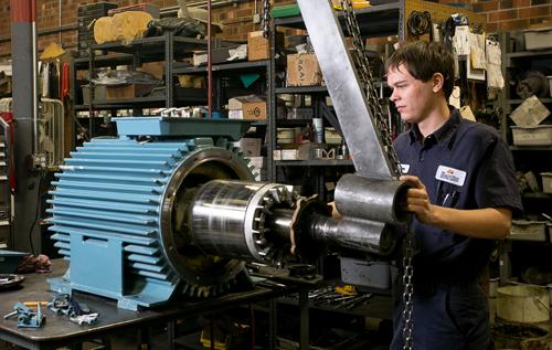 Капитальный ремонт асинхронного электродвигателя